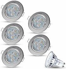 LED Einbaustrahler Schwenkbar Dimmbar DECORO Rund