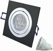 LED Einbaustrahler Schwenkbar Dimmbar STAR Eckig
