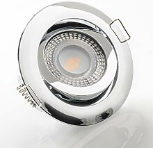 LED Einbaustrahler schwenkbar flach 3000K