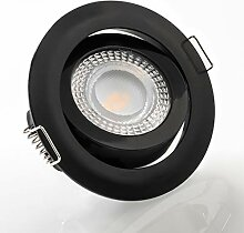 LED Einbaustrahler schwenkbar flach 4000K