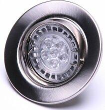 Led Einbaustrahler schwenkbar GU 10 230 Volt