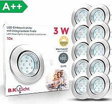LED Einbaustrahler Schwenkbar Inkl. 10 x 3W
