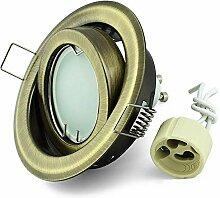 LED Einbaustrahler schwenkbar K-19 Einbauspot 85mm