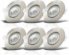 LED Einbaustrahler schwenkbar Spots Lampe