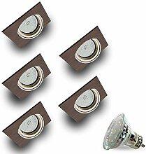 LED Einbaustrahler Schwenkbar VENGO Quadratisch