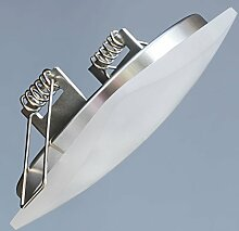 LED Einbaustrahler sehr flach 5W ECKIG Einbauspot