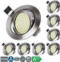 LED Einbaustrahler Set 5W Ultra Flach LED Modul