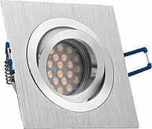 LED Einbaustrahler Set Bicolor (chrom /