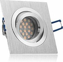 LED Einbaustrahler Set Bicolor (chrom/gebürstet)