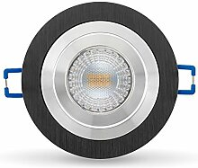 LED Einbaustrahler Set dimmbar inkl. Einbaurahmen