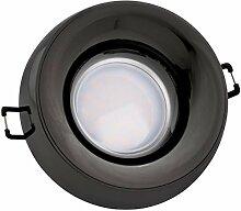 LED Einbaustrahler Set EXTRA FLACH (35mm) in