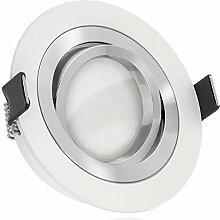 LED Einbaustrahler Set EXTRA FLACH (35mm) Wei§