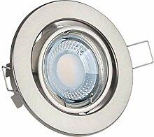 LED Einbaustrahler Set extra flach in