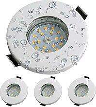 LED Einbaustrahler Set GU10 LED Kambo IP44