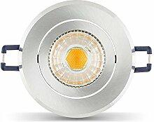 LED Einbaustrahler Set inkl. Einbaurahmen 230V 6W