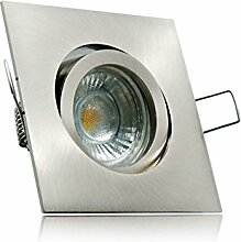 LED Einbaustrahler Set mit Marken GU10 LED Spot LC