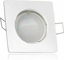 LED Einbaustrahler Set Weiß mit 4000K LED GU10