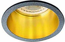 LED Einbaustrahler SPAG rund, IP20, Dekorring,