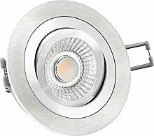 LED Einbaustrahler Spot inkl. 6W LED Modul RA 90