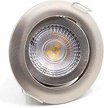 LED Einbaustrahler Spots Flach schwenkbar