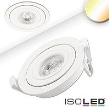 LED Einbaustrahler SUNSET mit variabler Tiefe,