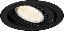 LED Einbaustrahler Supros in Schwarz 31W 2600lm