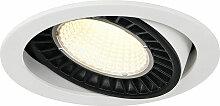 LED Einbaustrahler Supros in Weiß 36W 3520lm