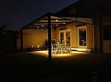 LED Einbaustrahler/Terrassenüberdachung/Carport/Wintergarten 3 Watt (10er Set)