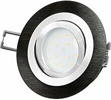 LED-Einbaustrahler Ultra flach (30mm) RF-2 rund