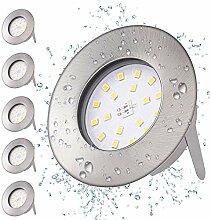 LED Einbaustrahler Ultra Flach 5W 230V LED