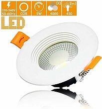 LED Einbaustrahler ultra flach 5W 450lm LED Modul