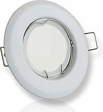 LED Einbaustrahler weiß rund 7 Watt neutralweiß