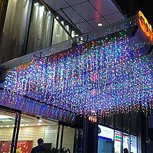 LED Eiszapfen Lichter, LONJY LED Eissturm Regen