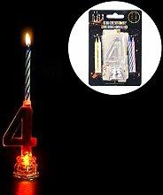 LED Elektronische Kerze colorful wechselndes Licht