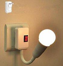 LED Energiesparlampe Nachttischlampe Wandlampe