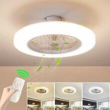 LED Fan Deckenlampe Deckenventilator Mit
