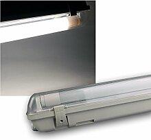 LED Feuchtraum Wannenleuchte IP65 1700lm 18W 1,2m