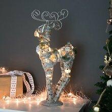 LED-Figur Rentier Die Saisontruhe