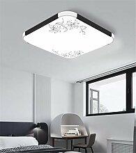 LED flache Deckenleuchte rechteckige Aluminium