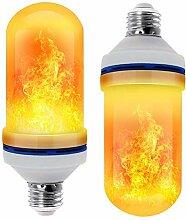LED Flamme Glühbirne Lampe Queta 4 Modi E27 LED