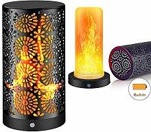LED Flamme Wirkung Licht - Flamme Flackern lampe