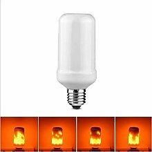 LED Flammen-Glühbirne E27 Birne Flackerlicht
