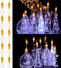 LED Flaschen-Licht,20 LEDs 1.98M Kupferdraht
