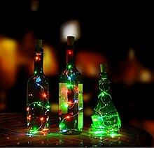 LED Flaschenlicht Weinflaschen Cork Lichter 3