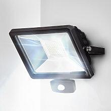 LED Fluter 50W + Bewegungsmelder