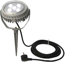 LED Fluter mit Erdspieß, 5x3W, IP44