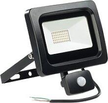 LED-Fluter mit PIR-Sensor, 30 Watt, 2.400 Lumen,