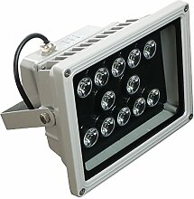LED Fluter warmweiß Strahler 12W 12 Watt Spot Scheinwerfer Aussenleuchte Objektbeleuchtung