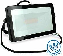 LED-Flutlicht 50W Schwarz Outdoor IP65 |