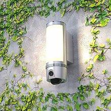LED Flutlicht Lampe mit IP W-LAN Kamera 180°